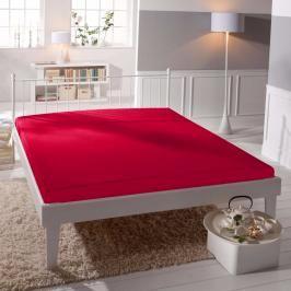 TP Jersey prostěradlo Premium 190g/m2 160x200 Červená