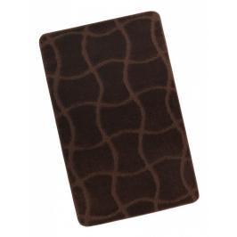 Koupelnová předložka 60x100cm hnědá čokoláda