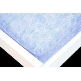 TP Žakárové prostěradlo (180 x 200) Premium - Nebeská modř