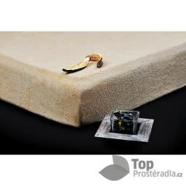 TP Froté prostěradlo Premium 190g/m2 90x200 Béžová
