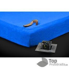 TP Froté prostěradlo Premium 190g/m2 90x200 Modrá