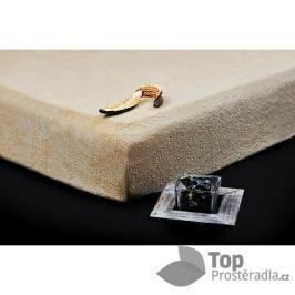 TP Froté prostěradlo Premium 190g/m2 180x200 Béžová