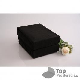 TP Froté prostěradlo Premium 190g/m2 220x200 Černá