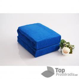 TP Froté prostěradlo Premium 190g/m2 220x200 Modrá