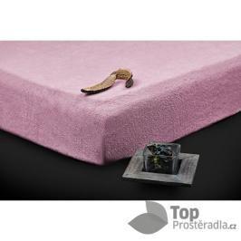 TP Froté prostěradlo (180 x 200) Premium - Lila