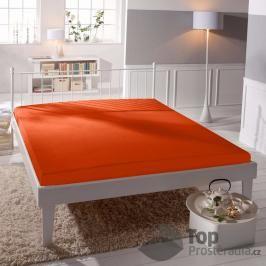 TP Jersey prostěradlo Premium 190g/m2 220x200 Oranžová
