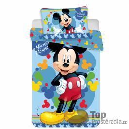 TP Bavlněné povlečení do postýlky 100x135+40x60 Mickey