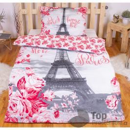 TOP Bavlněné povlečení PARIS ROSES 140x200+70x90
