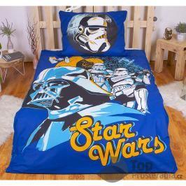 TOP Bavlněné povlečení 140x200 70x90 Star Wars blue