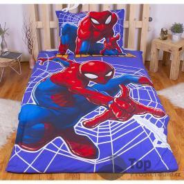 TOP Bavlněné povlečení 140x200+70x90 Spiderman lightings (svítí ve tmě)