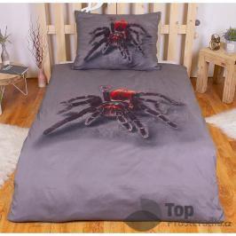 TOP 3D povlečení 140x200 70x90 Pavouček