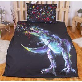 TOP Bavlněné povlečení 140x200+70x90 - Dino art