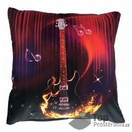 Apex 3D povlak 45x45  Ohnivá kytara