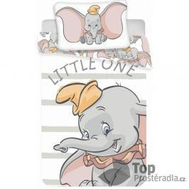 Dětské bavlněné povlečení Dumbo 100x135+40x60