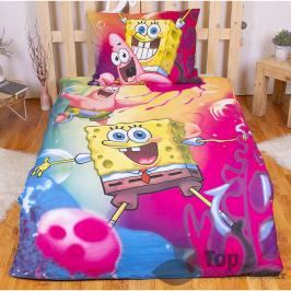 Bavlněné povlečení 140x200 70x90 SpongeBob
