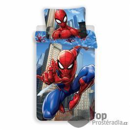 TOP Bavlněné povlečení 140x200+50x70 Spiderman