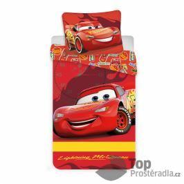 TOP Bavlněné povlečení do postýlky 40x60+100x135 Cars baby McQueen