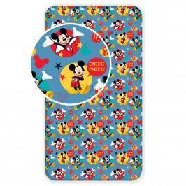 Bavlněné povlečení 90x200 Mickey Mouse