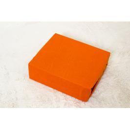 TP Dětské jersey prostěradlo Premium 190g/m2 60x120 Oranžová