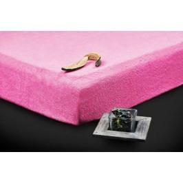 TP Froté prostěradlo (180 x 200) Premium - Růžová
