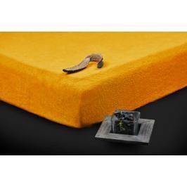 TP Froté prostěradlo Premium 190g/m2 180x200 Zlatá