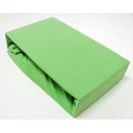 TP Jersey prostěradlo Premium 190g/m2 140x200 Zelená