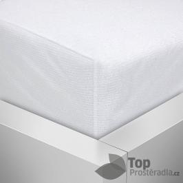 TOP Nepropustný napínací chránič matrace PVC s froté úpravou 90x200