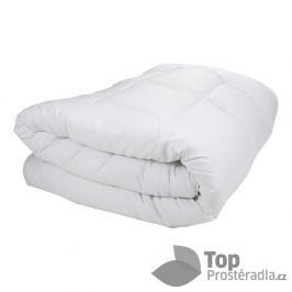 TOP Zimní prošívaná přikrývka WINTER 220x200 - Bílá