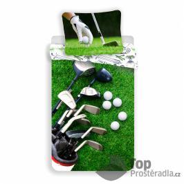TOP Bavlněné povlečení 140x200+70x90 Golf