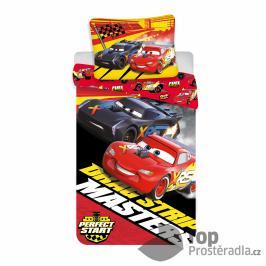 TOP Bavlněné povlečení 140x200+70x90 Cars Masters