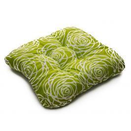 TP Sedák na židli 40x40 Molitanový Harmony zelený