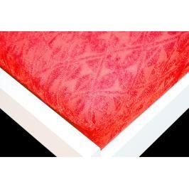 TP Žakárové prostěradlo (160 x 200) Premium - Červená