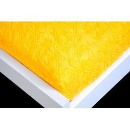 TP Žakárové prostěradlo (180 x 200) Premium - Zlatá