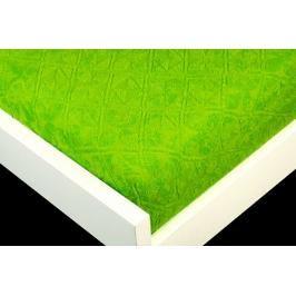 TP Žakárové prostěradlo (220 x 200) Premium - Zelená