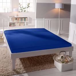 TP Jersey prostěradlo Premium 190g/m2 160x200 Modrá