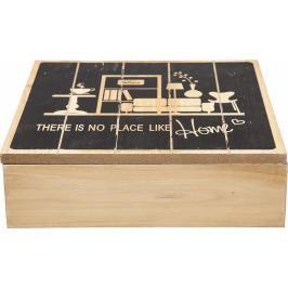 Dekorativní krabička There Is No Place Square