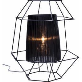 Stolní lampa Wire Black
