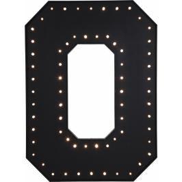 Nástěnné světlo O Black LED