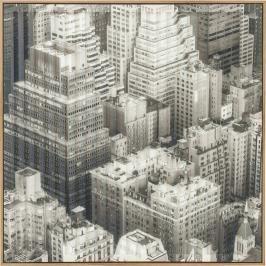 Obraz s rámem Art 3D City View One 80x80 cm