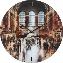 Nástěnné hodiny Glass Grand Central O 80 cm