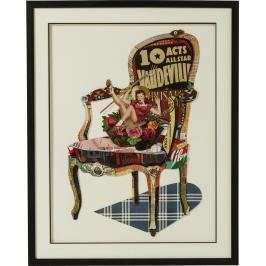 Obraz s rámem Art Chair Pin Up 90×72 cm