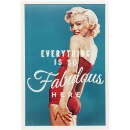 Obraz s rámem Fabulous 64×94 cm