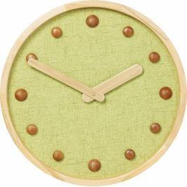 Nástěnné hodiny Arizona 42 cm - zelené
