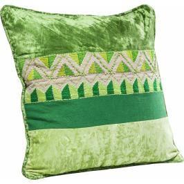 Polštář Ornaments 45×45 cm - zelený