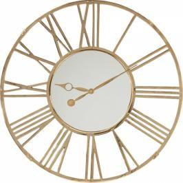 Nástěnné hodiny Giant Gold 120 cm