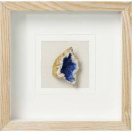 Obraz s rámem Achat - modrý