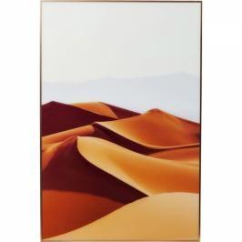 Obraz s rámem Alu Desert Dunes 80×120 cm