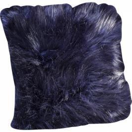 Polštářek Ontario Fur - černý, 45×45 cm