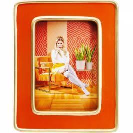 Rámeček Zebra - oranžový