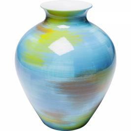 Modrá porcelánová váza Arte Colore Turquoise 28cm